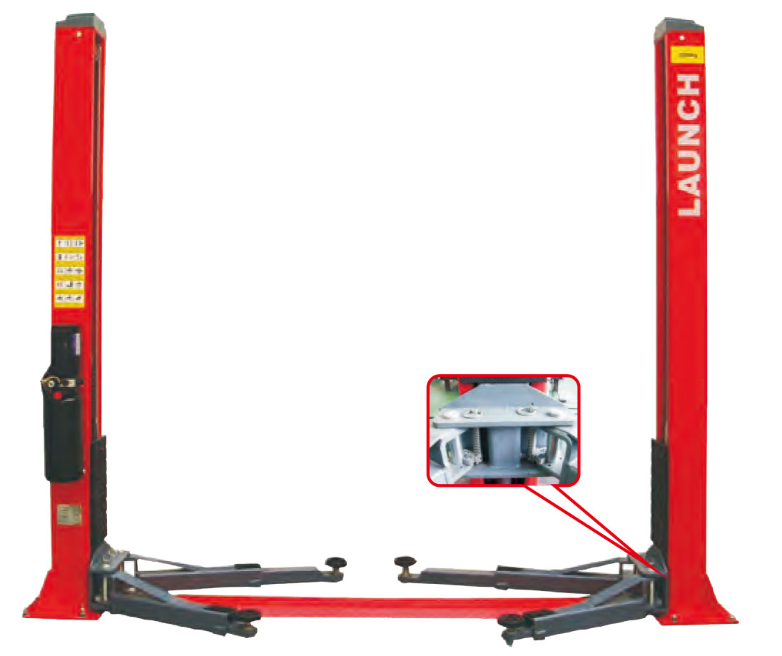 hight resolution of tlt240sb economical floor plate two post lift