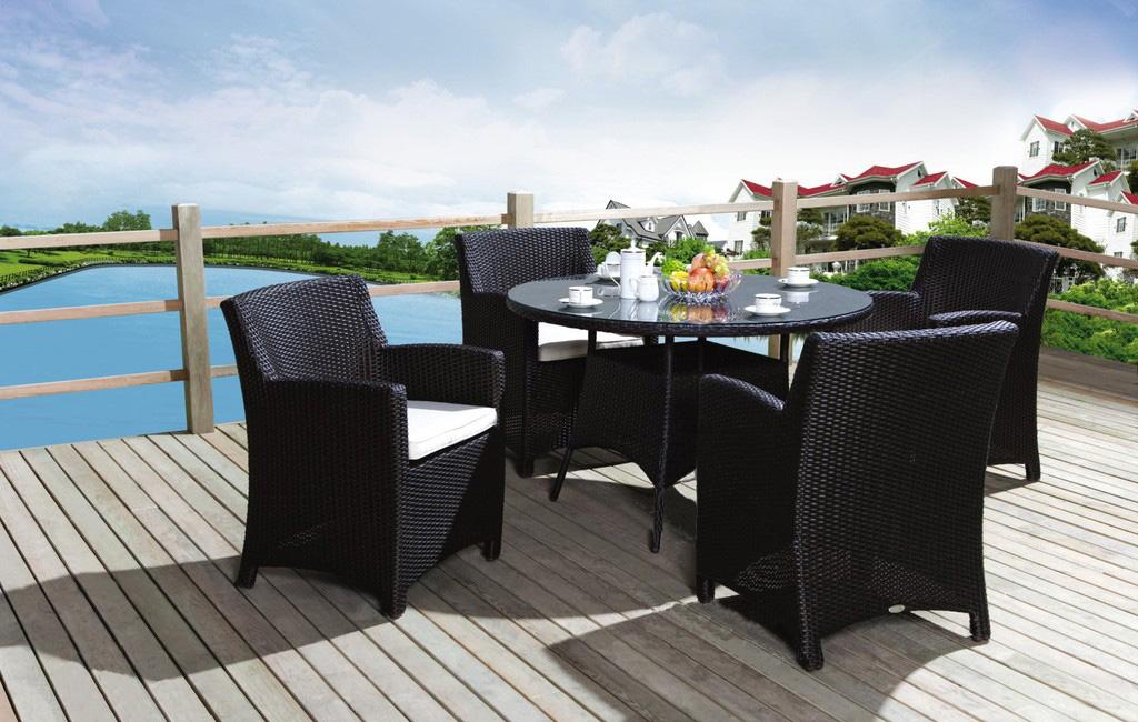 花園編藤桌椅