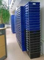 Muuttolaatikot valtasivat kirjaston 14.12.