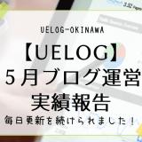 【UELOG】5月ブログ運営実績報告