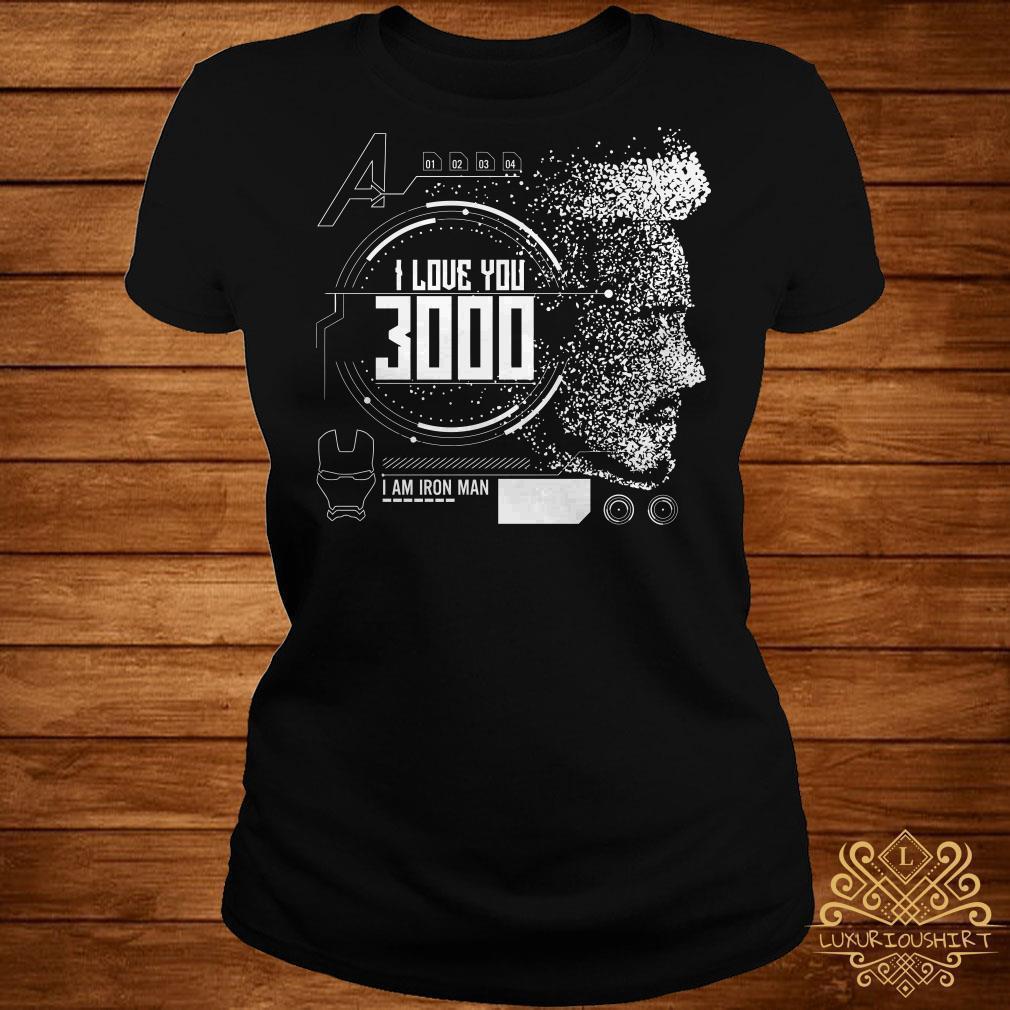 Download Avengers Endgame I love you 3000 Iron Man shirt, sweater ...
