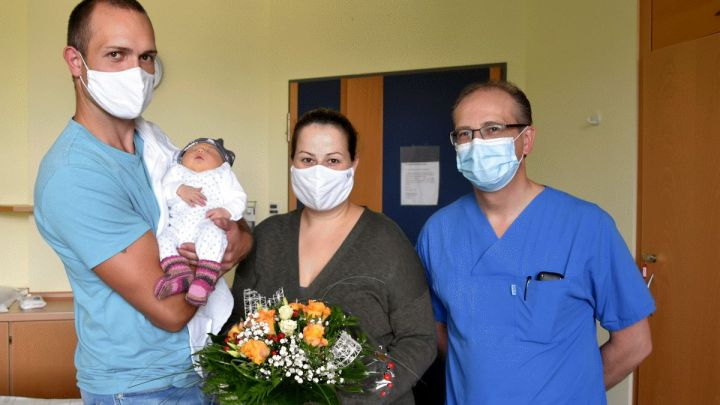 Frieda ist Uelzens 400. Baby in 2020 – Jubiläumsbaby im Helios Klinikum Uelze