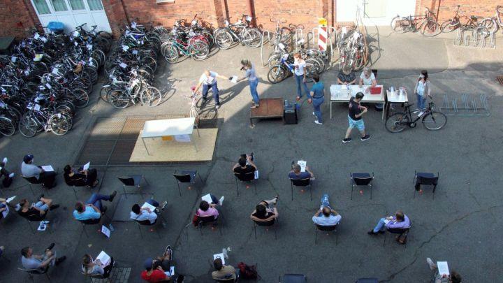 Nach einem Jahr Pause: Fundfahrräder im Bürgeramt unter dem Hammer