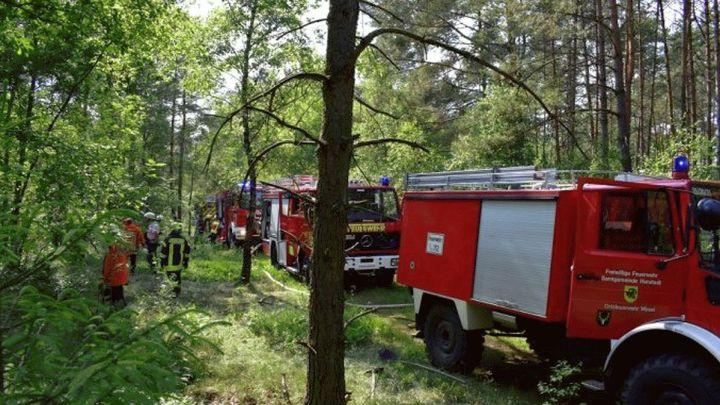 Waldbrandgefahr ist trotz Regenschauern noch hoch