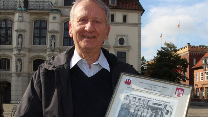 Besuch aus Köthen zum Jahrestag der Deutschen Einheit – ganz ohne Laufschuhe