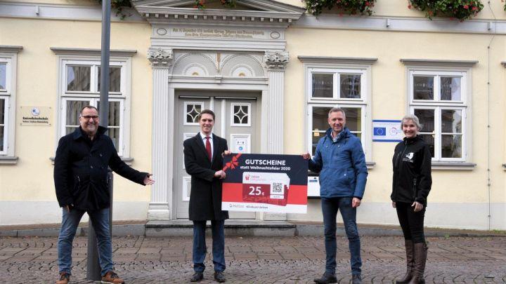 """""""Gutscheine statt Weihnachtsfeier"""" – Helios Klinikum Uelzen stärkt die lokale Wirtschaft mit 20.000 Euro"""