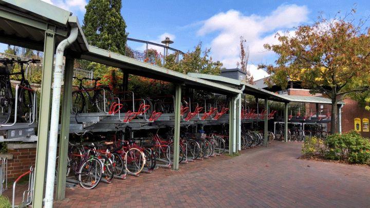 Kurzfristige Sperrung von Fahrradständern am ZOB