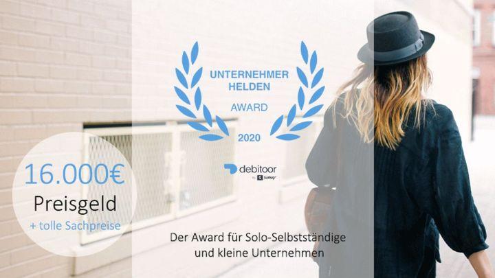 Donner Visagistik aus Schnega gewinnt den Unternehmerhelden Award 2020