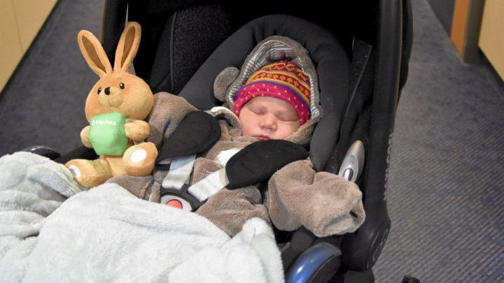 Uelzens Neujahrsbaby kommt mit einem Tag Verspätung – Lina Schüssler ist das erste Baby in 2021