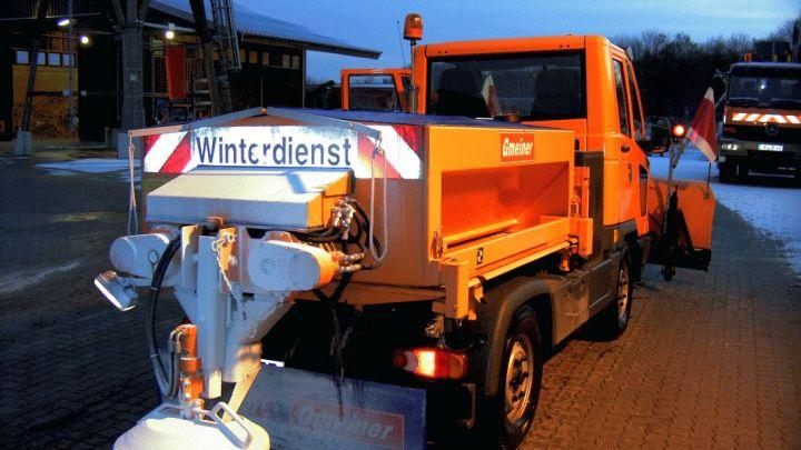 Winterwetter extrem:  Betriebliche Dienste der Hansestadt rüsten auf