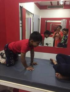 The students of BPT course (Bachelor of Physiotherapy) of the University of Engineering & Management (UEM), Jaipur treated the specially abled children, with their skills of Physiotherapy under the supervision of Dr. Avtar Doi and Dr. Bhupesh Goyal (Principal, School of Physiotherapy, UEM Jaipur) at Re-Life Rehabilitation Clinic, Jaipur.  They had some wonderful moments with these children.