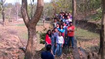 Conducted tour for our students