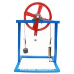 WORKING MODELS OF ROPE BRAKE DYNAMOMETER