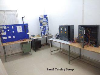 Panel Testing Setup