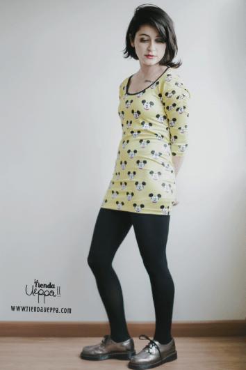 Vestidos mini en lycras sublimadas de alta calidad de MaraDLaVilla / Cómpralo aquí: http://latiendaueppa.monomi.co/products/vestidos-sublimados/