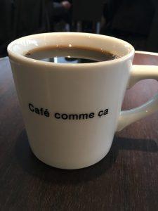 カフェ コムサ コーヒー