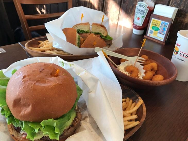 お台場のKUA'AINAでランチ。BBQバーガーは、やっぱり美味しかった!