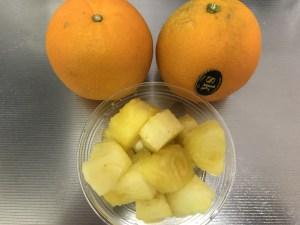 パイナップル オレンジ