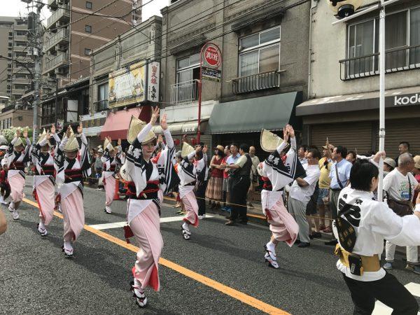 女踊り 阿波踊り