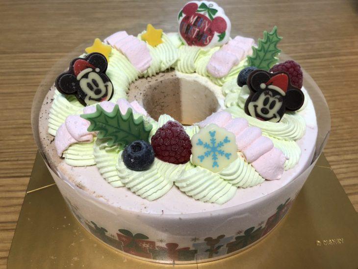 今年のクリスマスケーキは、サーティワンのアイスクリームケーキ