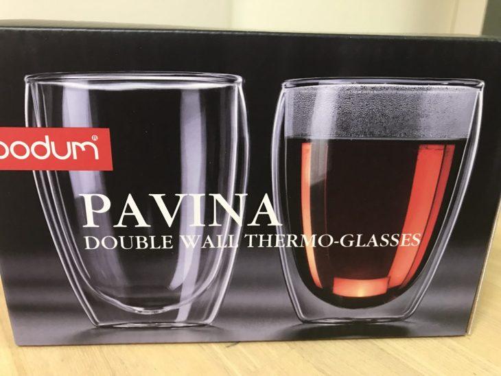 bodum の PAVINA ダブルウォールグラスを御殿場のアウトレットで買ったら、アマゾンの方が安くてガッカリ