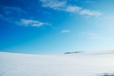 足跡が好きで好きで。雪が軽く降った後とか、足跡追いかけて歩いてしまう