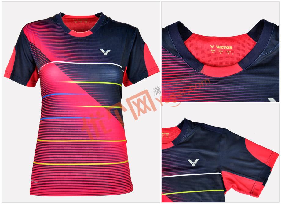 VICTOR勝利T-6100BQ女款羽毛球服(2016韓國國家隊戰衣)-羽毛球服-優個網