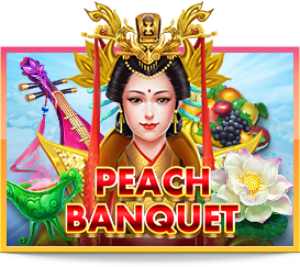 สล็อต Peach Banquet Joker Gaming