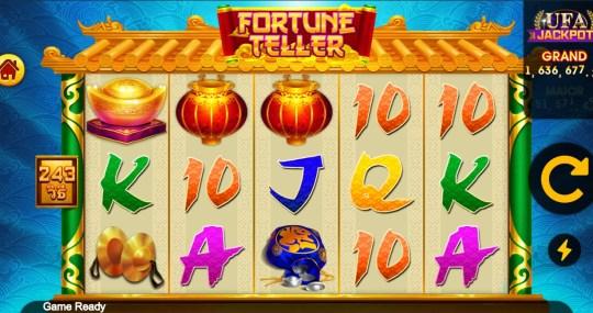 Fortune Teller เกม สล็อตไก่ UFA Slot