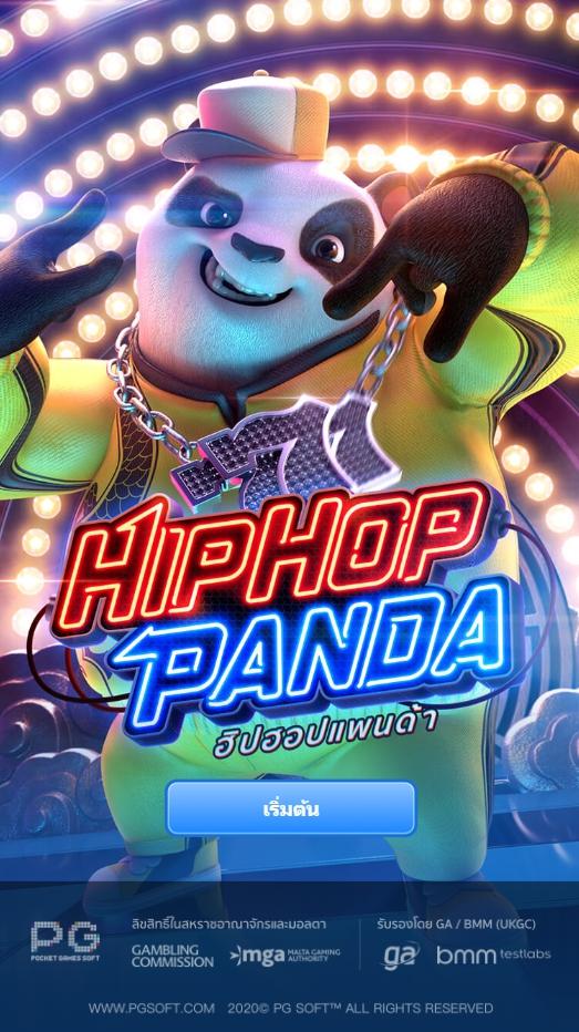 รีวิวสล็อต Hip Hop Panda สล็อตมือถือ