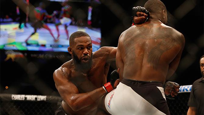 UFC 197 Jones vs Saint Preux