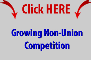 growing non union ufcw