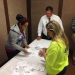 Counting ballots for the new contract