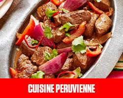 Cuisine Péruvienne UFE Pérou