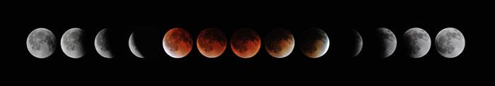 Éclipse de Lune du siècle - UFE Pérou