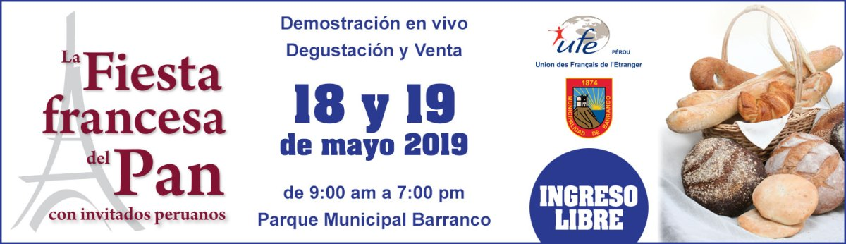 Fiesta Francesa del Pan 2019 - UFE Pérou