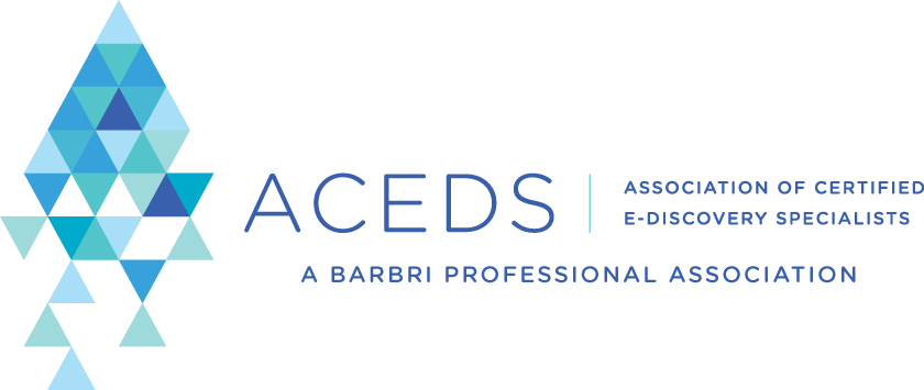ACEDS National Global Standard in E-Discovery Education