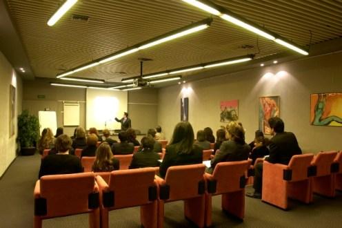 Sala formazione Milano Certosa