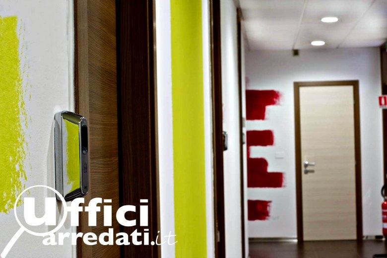 Accesso ufficio con impronte digitali
