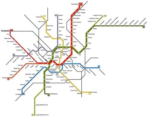 Metropolitana Milano Fermate