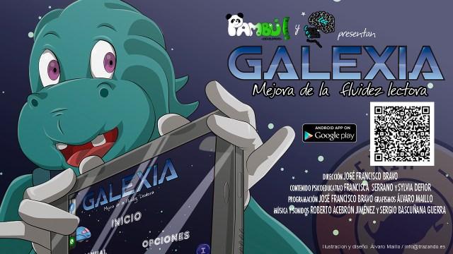 Galexia, aplicación para mejorar la dislexia.