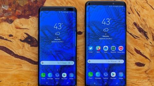 Samsung S9 y Samsung S9 Plus
