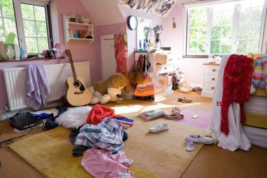 Problemas de desorden en dormitorios