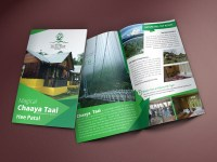 Brochure Design for Nature Hill Top Resort