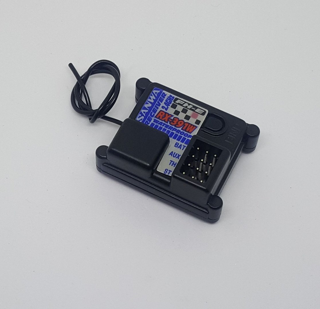 SANWA - RX-391W 2.4GHz FH-E Empfänger - UFM - Modellbau