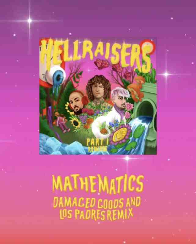 Los Padres & Damaged Goods Drop Remix of 'Mathematics' by Cheat Codes