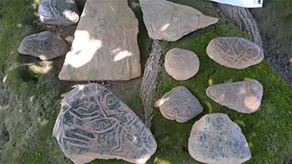 found stone artifacts