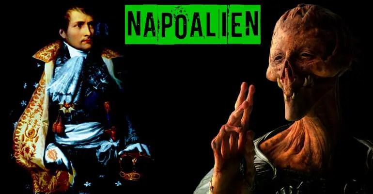 Alien près de napoleon bonaparte