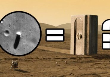 monolith on mars