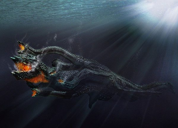 leviathan in the sea
